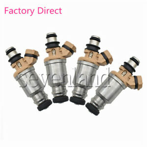 SL 23209-16150 SET OF 4 FUEL INJECTORS FOR TOYOTA COROLLA GEO PRIZM 1.6L 1993-97