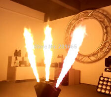 3 Head Flame Thrower - DJ Band Stage Show Effect - DMX Fire Projector Machine