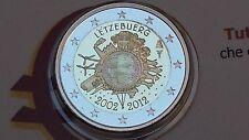 2 euro 2012 Fs BE PP proof specchio LUSSEMBURGO Luxembourg Luxemburg Letzebuerg