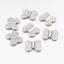 Packet 5 x Antique Silver Tibetan Cone Bead Caps 12 x 13mm Y07675