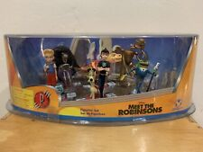 RARE🔥 Disney Store Meet The Robinsons Figurine Set of 6 Age 3+ Sold Out VNTG