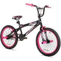 "20"" Girls Single Speed Outdoor Front Rear Brakes Teen BMX Bike Bicycle"