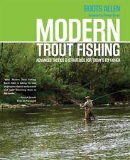 Modern Trout Fishing by Boots Allen  **AUTOGRAPHED COPY Lyon Press