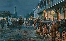 CHARLESTON- AUTUMN, 1861  -MORT KUNSTLER-  LIMITED EDITION - COA