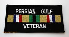 PERSIAN GULF HAT HAT PATCH VETERAN GIFT US ARMY MARINE NAVY AIR FORCE PIN UP WOW