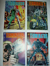 The TERMINATOR: complete 4 issue M/SERIES.1st ever 1990 DARK HORSE SERIES.1,2,3