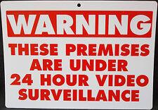 WARNING VIDEO SURVEILLANCE CAMERAS RECORDING WATERPROOF YARD SIGN OUTDOOR FENCE