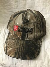 Trucker Hat Tractor Supply Camouflage Camo Mesh Velcro Baseball Cap Size Boys