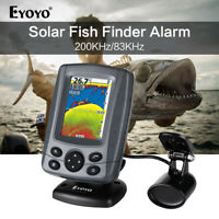 "Eyoyo E5 Sonar Fish Finder 3.5"" LCD Sunlight Screen 300M Fishing Finder Sounder"