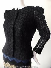 CARLA ZAMPATTI -  New - rrp $899  Size 6 - 8  US 2 - 4 Black Lace Jacket
