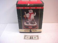 "Coca Cola Animation Collection ""Always Cool"" Musical Polar Bear - 1994 NEW"