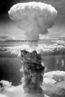 Atomic Bombing Cloud of Nagasaki on August 9, 1945 4x6 WWII WW2 Photo 100
