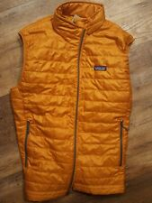 NEW Patagonia Nano Puff Vest Hammonds Gold Large (Men's)