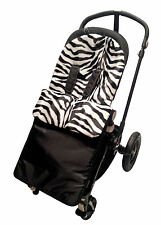 Animal Print  Footmuff / Cosy Toes Compatible with Buggy Pushchiar Zebra