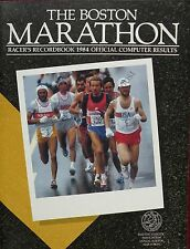 The Boston Marathon Racer's Recordbook Official Computer Results 1984
