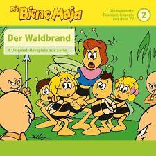DIE BIENE MAJA - 02: 4 HÖRSPIELE: DER WALDBRAND,WILLI BEI DEN AMEISEN/+  CD NEU