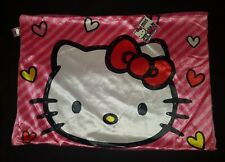 Hello Kitty Pillow Case / Pillow Sham Hearts Pink 18 x 27 NWT 100% POLYESTER