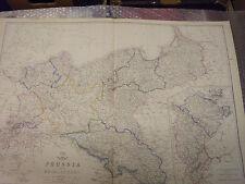 Prussia Mecklenburg Westphalia+The Rhine Province Dispatch Atlas Framed 40more