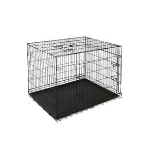 Pet Crate | Extra Large// Puppy Training Surgery Recovery Night Kennel Wire Cage