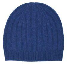 *NEW* J.Crew Women's Lightweight Ribbed Cashmere Hat - Deep Navy Blue *NWT*