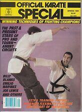 karate official karate special-spring 1984