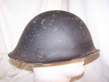 One British helmet shell dated 1952 or 1953. Used in Northern Ireland.