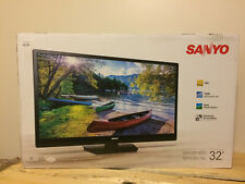 """Sanyo 32"""" LED LCD HDTV 720p 120 Brilliant Motion Rate FW32D08F New in the Box"""