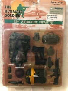 """The Ultimate Soldier 12"""" 1/6 Scale US 82nd AIRBORNE INFANTRY Weapon set"""