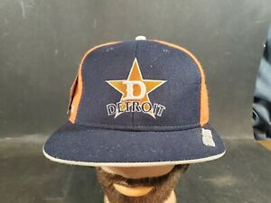 Detroit Stars  Negro League Museum Fitted Baseball Hat Cap 7 5/8 NWT