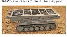 MGM 080-203 1/72 Resin WWII German Panzer II Ausf. c (Sd. Kfz. 121) Bridge Layer