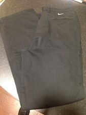 Nike Golf Trousers, Black, W 34 L 32 - USED