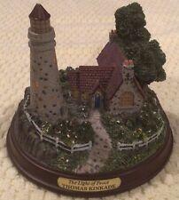 Thomas Kinkade Lighthouse Statue- The Light Of Peace