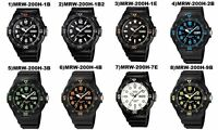 Casio Watch MRW200H Divers style Rotating Bezel Choice of 10 Designs UK seller