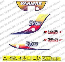 Yanmar SV15 bagger-aufkleber-aufkleber-satz