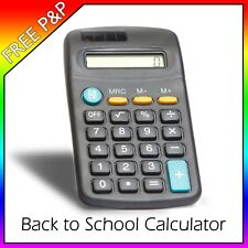 SMALL CALCULATOR 8 DIGIT DISPLAY MINI POCKET SIZE for Home School Office