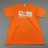 Vintage Dole Hawaii Size Medium Men's Orange T Shirt 90's