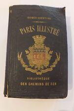 Guide illustré de Paris, Hachette, Bibliothèque des Chemins de fer, 1855