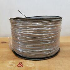16 AWG Stranded Copper Wire, Approximately 5000 Feet, Grey - NEW