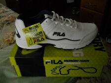 FILA MEN'S MEMORY FOAM RUNNING SHOES WHITE SZ 11.5 M MEMORY SPORTLAND-NEW IN BOX
