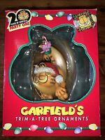 PAWS Garfield's Trim-a-Tree Ornament Garfield on the Moon 1996
