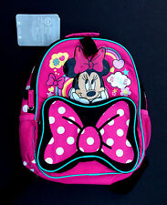 DISNEY Store BACKPACK for Kids MINNIE MOUSE JUNIOR School 2016 NWT