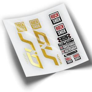 PEGATINAS HORQUILLA ROCKSHOX SID SELECT PLUS 2021 WP363 STICKERS AUFKLEBER VINYL