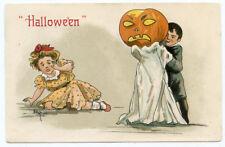 HBG Halloween Boy with Scary JOL Frightening Girl