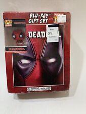Deadpool Blu- Ray Gift Set Digital + DVD & FUNKO Pocket Pop Keychain