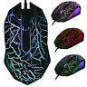 Gamer USB LED Optical 3key Adjustable Wired 1000 DPI Computer Mice Gaming Mouse