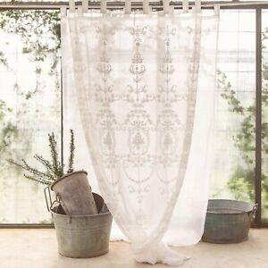 Blanc Mariclò Collezione Letizia Tenda finestra con passanti 45 x 70 cm