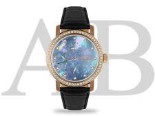 Reloj André Belfort Régulateur (F) Oro Rosado / Azul Claro
