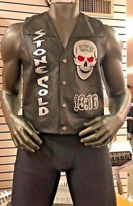 Stone Cold Steve Austin 3:16 Skull Vest - Brand New WWF WWE