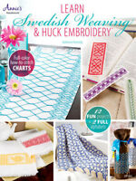 Huck Adventures Swedish weaving book Glorious patterns to embroider Michiko Kuge