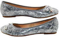 Ladies New Formal Scale Effect Dress Pumps Womens Bow Casual Slip on Shoes